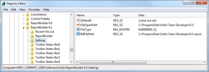 ReportBuilder Miscellaneous - Team Developer SqlWindows Wiki